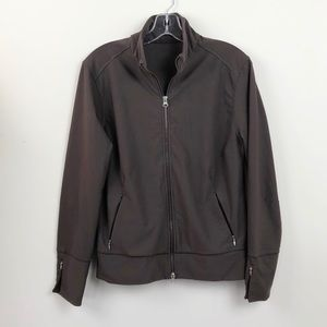 LUCY Brown Athleticwear Jacket
